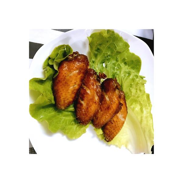 毛毛妤的蒜茸菜谱-飞利浦菜谱炸锅空气鸡翅的食物烤做法图片