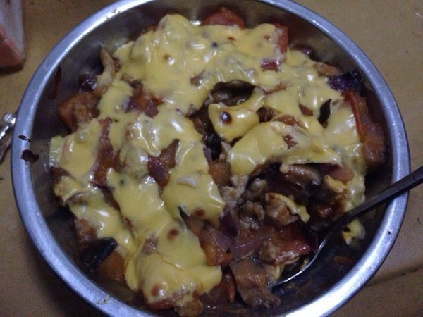 蕃茄肉酱奶酪焗饭的做法