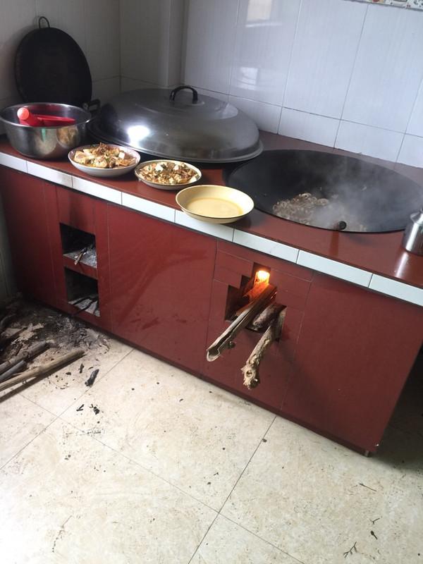 厨房设计图柴火图片