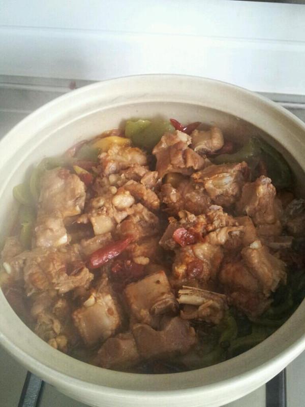 干锅排骨的做法