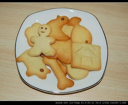 动物饼干的做法