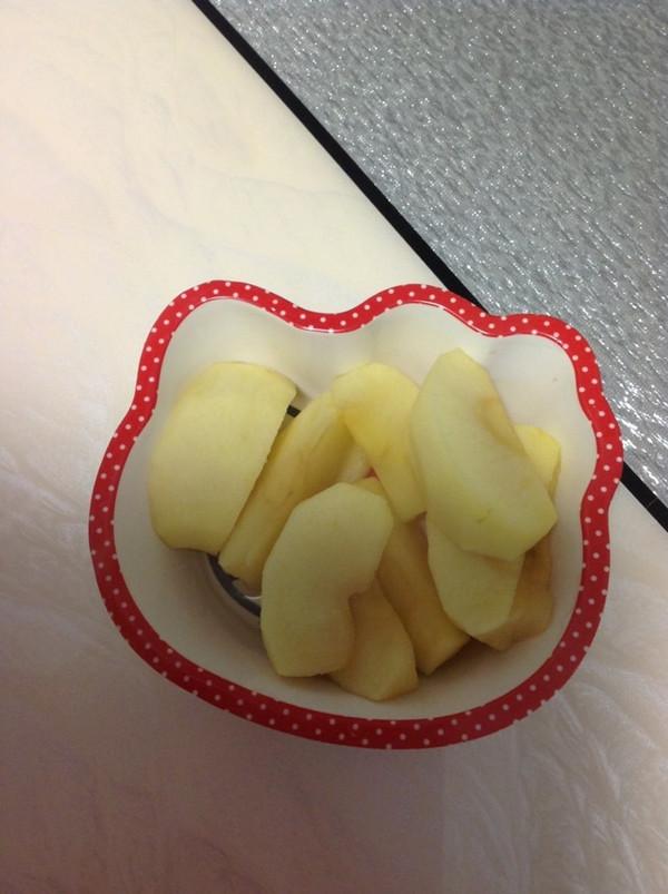 蒸苹果的做法