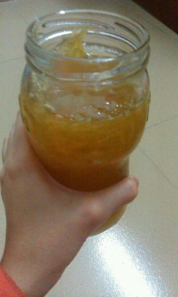蜂蜜柚子茶 的做法