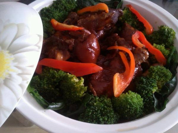 红烧猪蹄——懒人版的做法