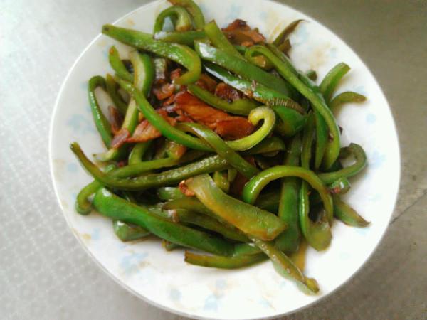 青椒炒肉丝 的做法