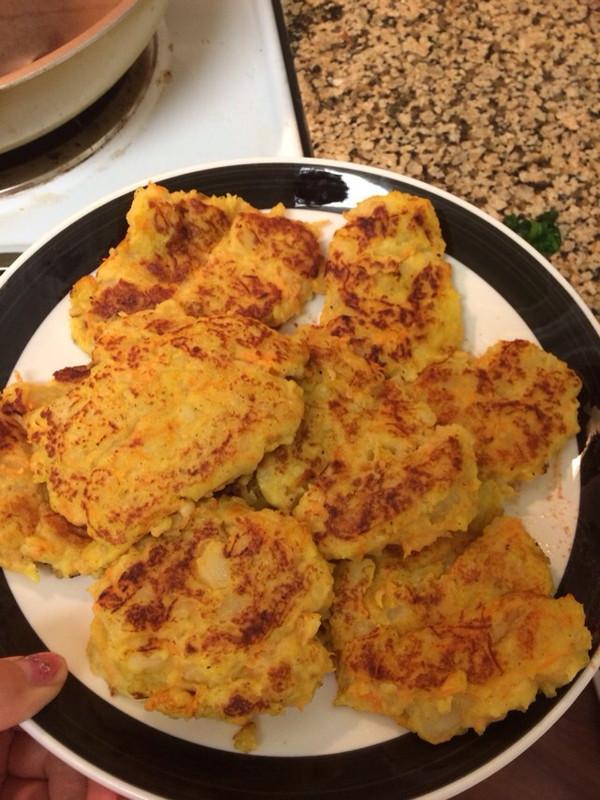 鸡蛋土豆饼 的做法