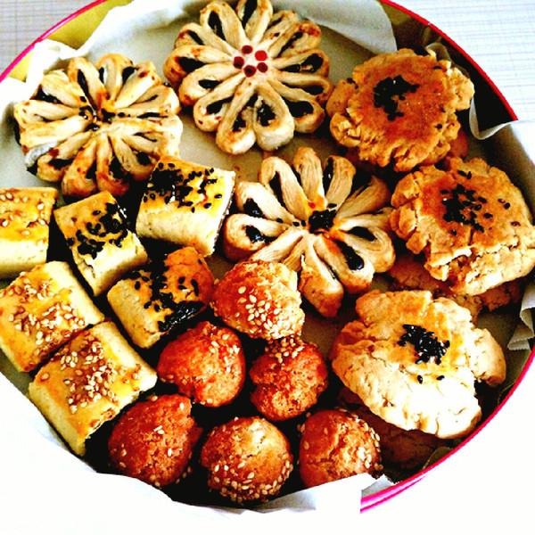 中式糕点之枣花酥图片
