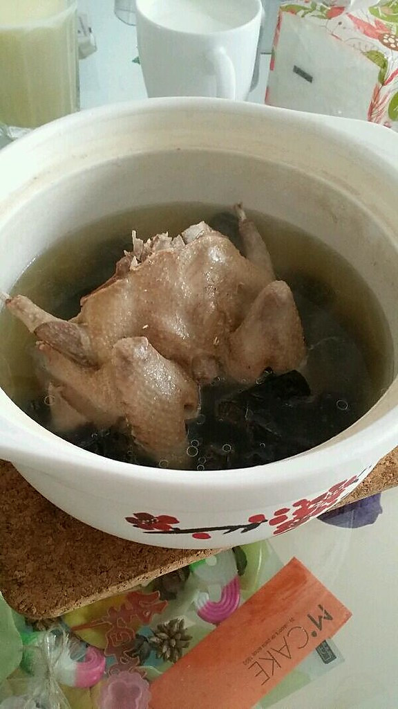 清炖鸽子汤的做法