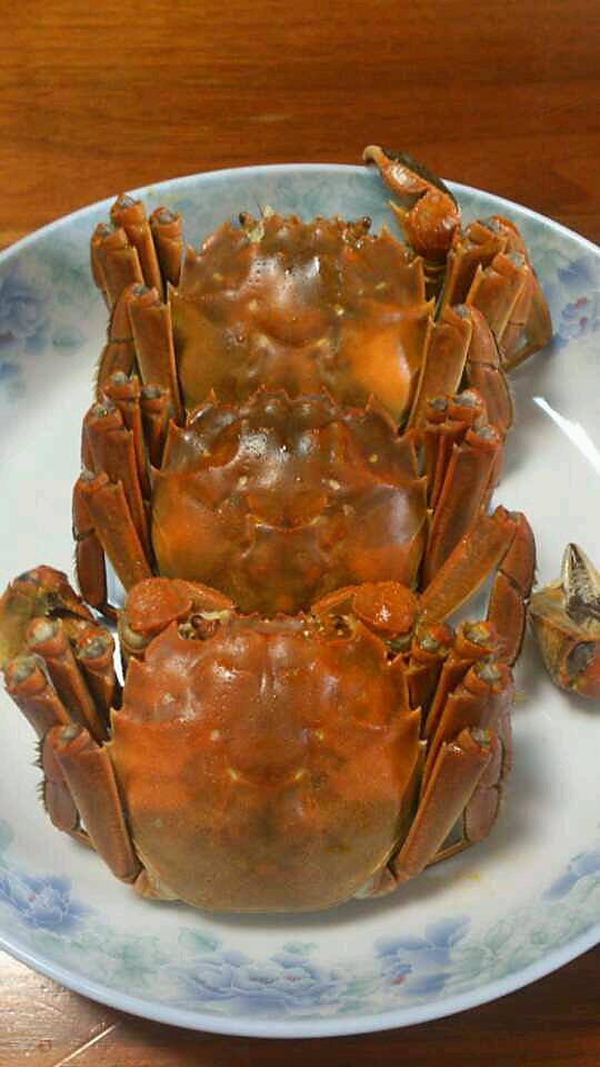 清蒸大闸蟹的做法