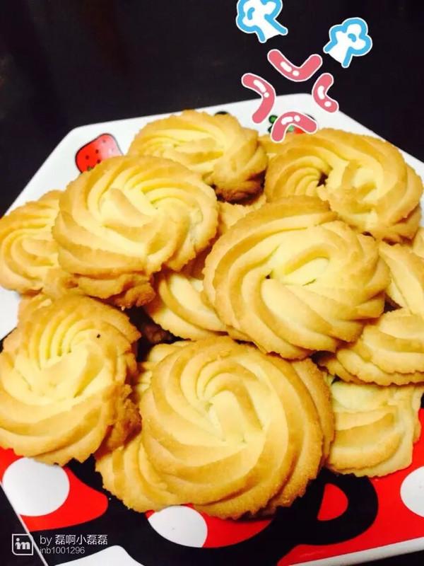 原味黄油曲奇饼干的做法