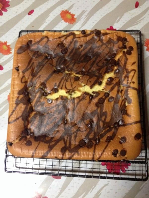 原味戚风蛋糕的做法