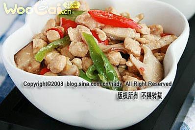 炎夏开胃肉食:剁椒香菇鸡