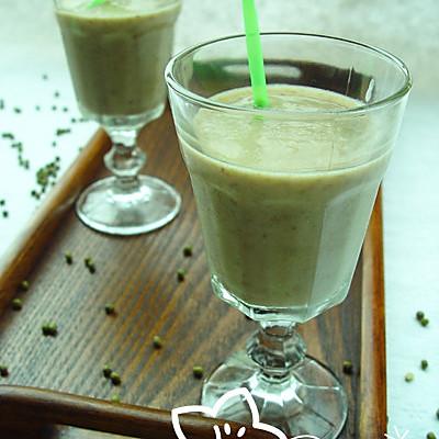 独创美食——绿豆奶昔的做法