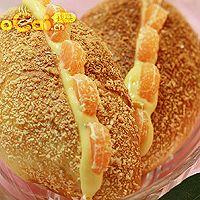 春节特制:椰蓉卡士达面包