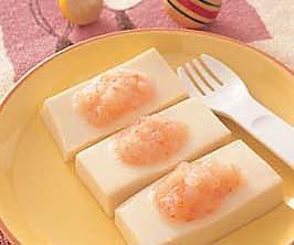 鲜虾豆腐的做法