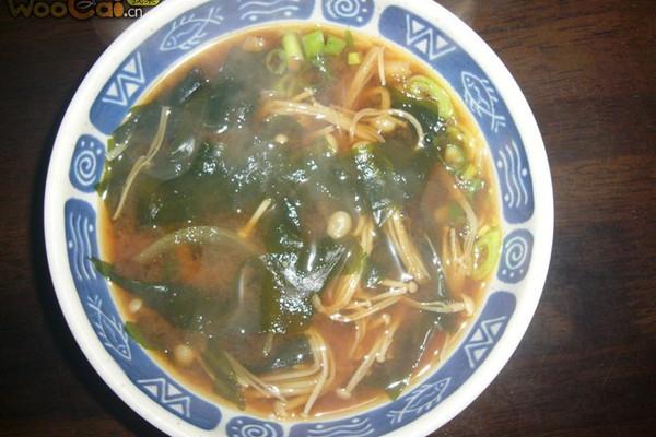 大酱汤日式的做法