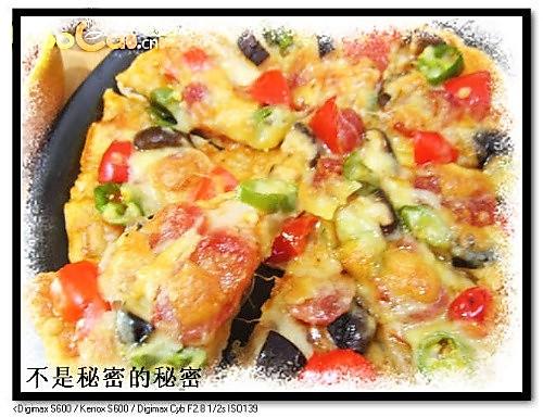 脆皮什锦披萨的做法