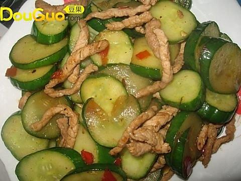 剁椒黄瓜肉丝的做法