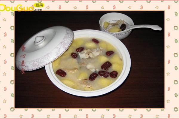 苹果草鱼汤的做法