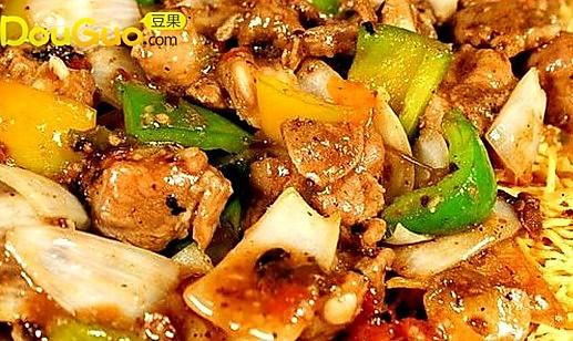 经典粤菜:豉椒排骨炒面的做法
