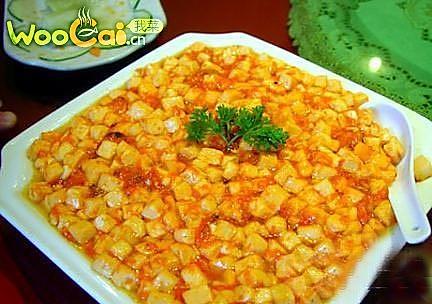 蟹黄嫩豆腐的做法