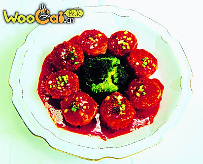 鱼香番茄夹的做法