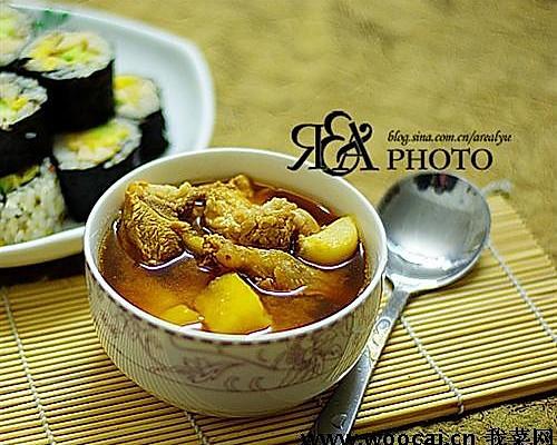 大酱汤--棒骨酱汤的做法