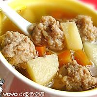 荸荠肉丸汤