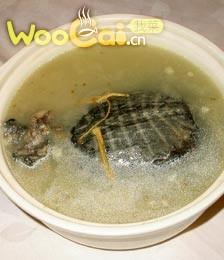 清蒸八宝甲鱼的做法