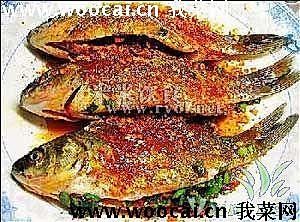 微波炉烤鲫鱼的做法