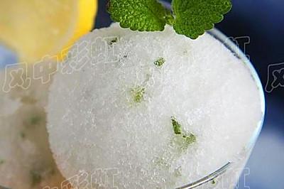 薄荷柠檬冰霜