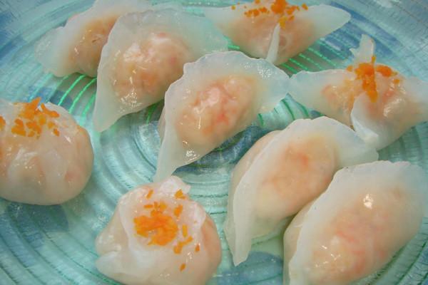 水晶虾饺、水晶包和水晶角的做法
