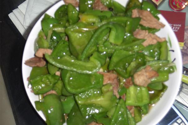 肉片青椒的做法