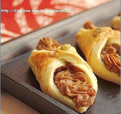 美丽厨娘-锦衣玉带-红糖芋头酥 的做法