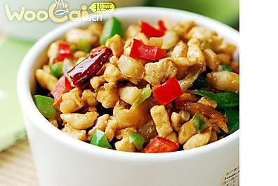 榨菜碎米鸡