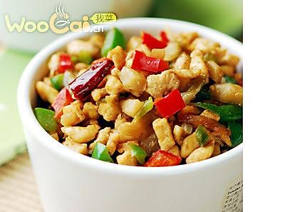 榨菜碎米鸡的做法