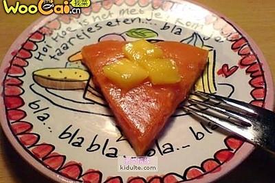 西瓜汁凉糕--消夏佳品