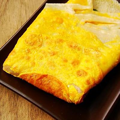 鸡蛋煎饼的做法_【图解】鸡蛋煎饼怎么做好吃_鸡蛋