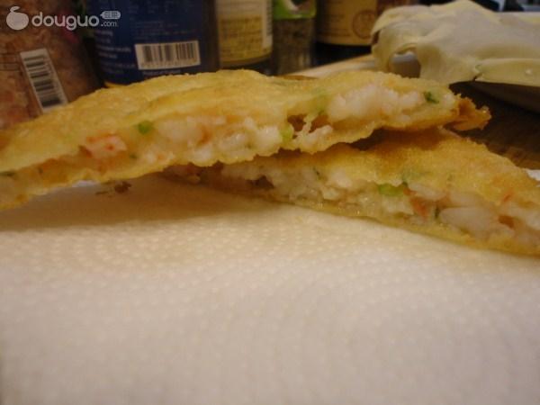 月亮虾饼的做法图解7