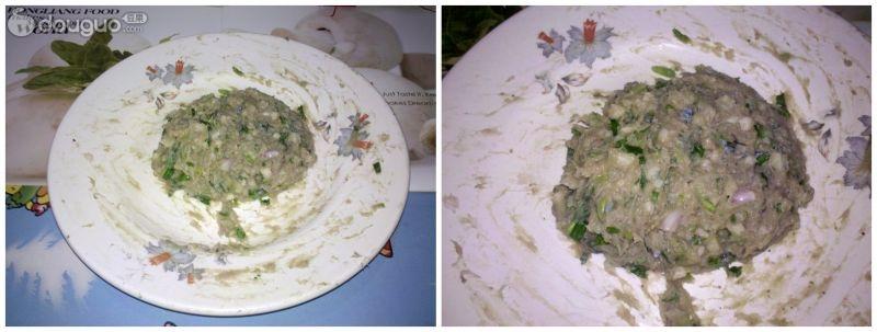 煎酿藕饼的做法_【图解】煎酿藕饼怎么做好吃