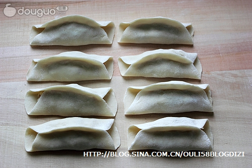 十种家常饺子包法的做法图解23