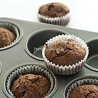 巧克力块奶油杯子蛋糕的做法<!-- 图解7 -->